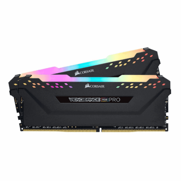 Corsair Vengeance 16GB DDR4-2666MHz Kit (2x8GB) Low-Profile Heatsink, XMP RGB Pro