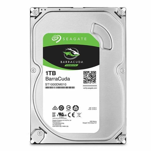 1TB Seagate Barracuda HDD 7200RPM