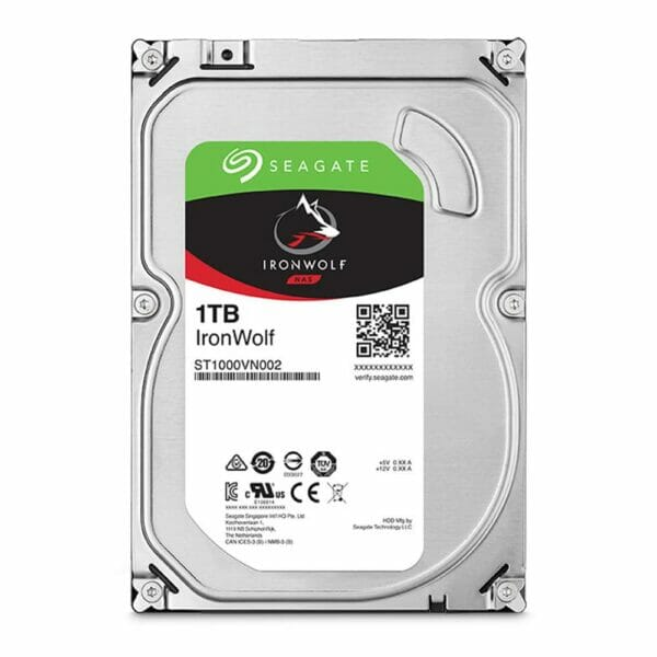 1TB Seagate IronWolf HDD 5900RPM