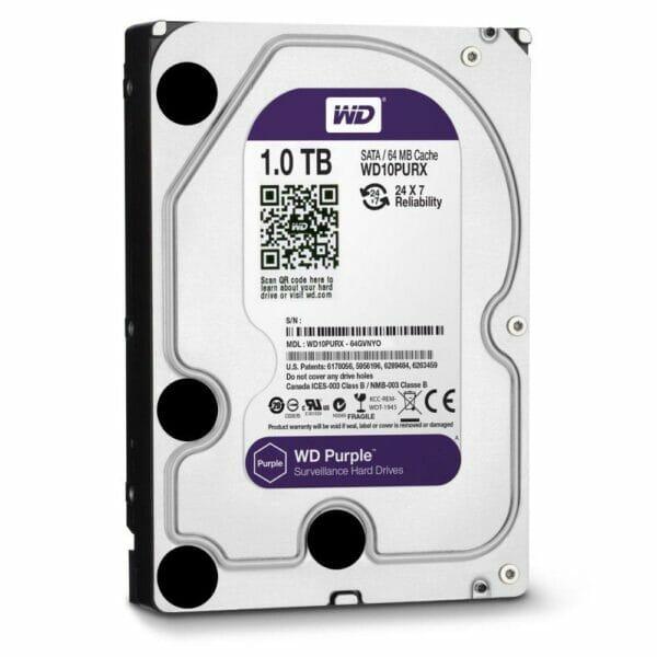 1TB Western Digital Purple HDD