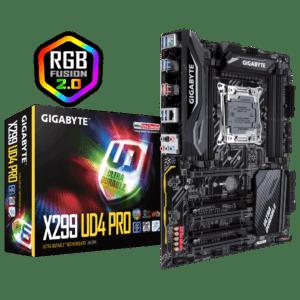 Gigabyte x299 UD4 Pro Desktop Motherboard