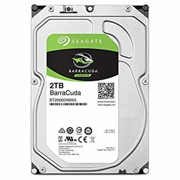 2TB Seagate HDD 5400RPM