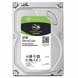 3TB Seagate Barracuda HDD 7200RPM