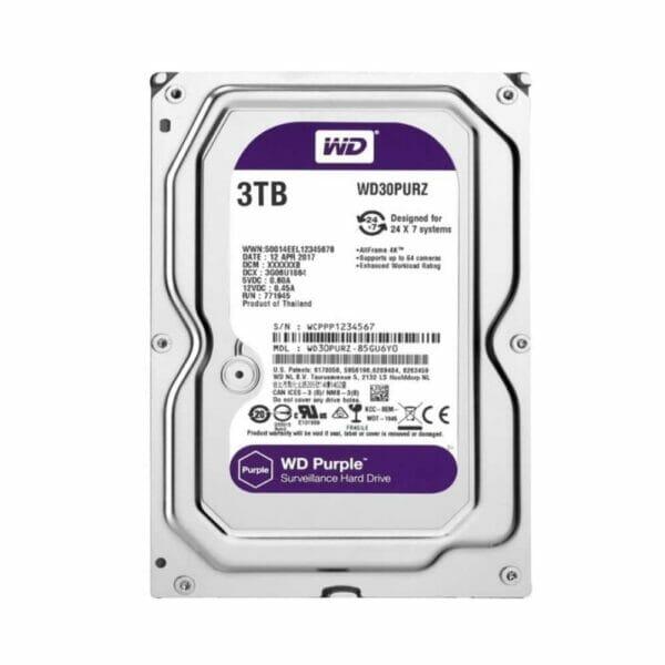 3TB Western Digital Purple HDD