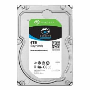 6TB Seagate SkyHawk HDD 7200RPM