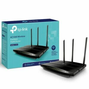 TPLINK AC1200 Dual Band Wireless Gigabit Router