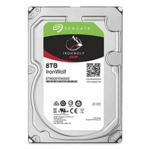 8TB Seagate IronWolf HDD 7200RPM
