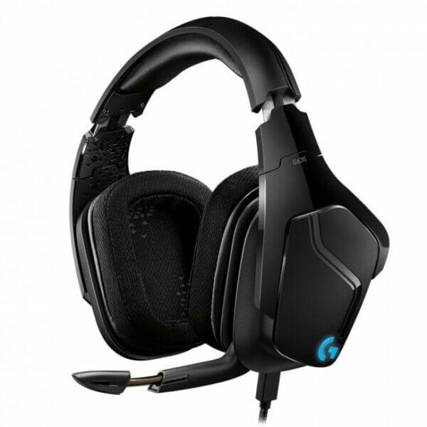 Logitech G635 lightsync surround gaming headset