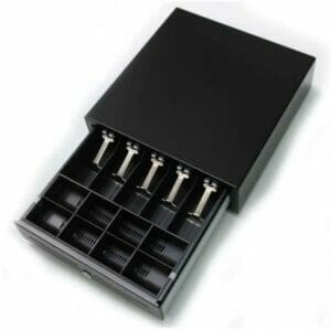 Kick Cash Drawer Available in Black with Printer Kick Device interface