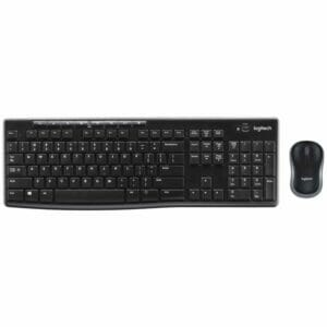 Logitech Wireless Desktop MK270 | Keyboard + Mouse Combo
