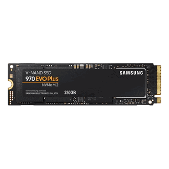 250GB Samsung 970 EVO NVMe M.2 2280 PCI-Express 3.0 X4 Internal Solid State Drive (SSD)