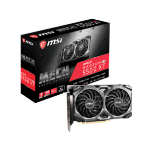 MSI AMD RX 5500 XT Gaming X 8GB GDDR6 Graphics Card