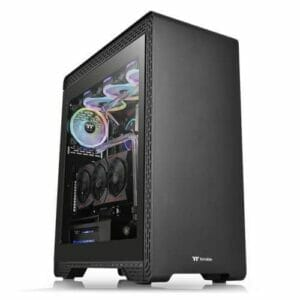 Thermaltake S500 tempered Glass Edition Mid Tower chassis Black