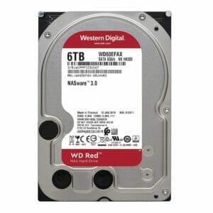 6TB Western Digital RED NAS Storage