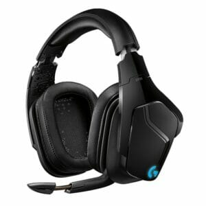 Logitech G935 LightSync Gaming Headset, 7.1 Surround, Wireless