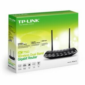 TPLINK AC750 Dual Band Wireless Gigabit Router