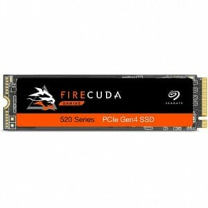 2TB Seagate Firecuda 520 NVMe M.2 2280 PCI-Express 4.0 X4 Internal Solid State Drive (SSD)