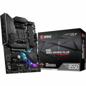 MSI MPG B550 Gaming Plus Motherboard