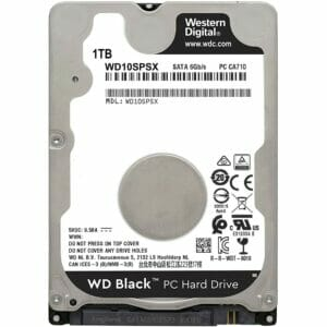 """1TB Western Digital Black WD10SPSX 2.5"""" Internal HDD"""