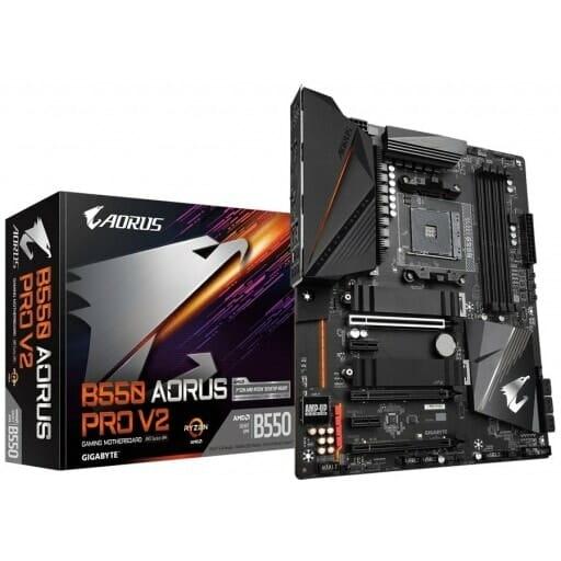 Gigabyte B550 Aorus Pro V2 Motherboard For AMD AM4 CPU