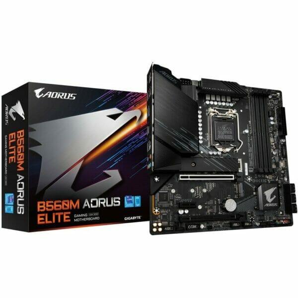 Gigabyte B560M Aorus Elite Motherboard For Intel LGA 1200 CPU