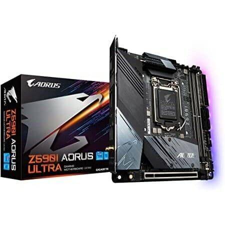 Gigabyte Z590I Aorus Ultra Motherboard For Intel LGA 1200 CPU