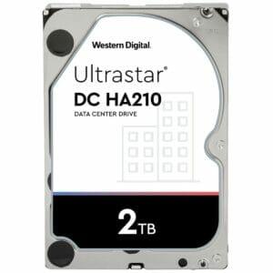 "2TB Western Digital UltraStar DC HA210 HUS722T2TALA604 3.5"" Internal HDD"