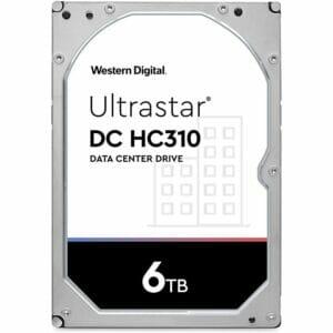"""6TB Western Digital UltraStar DC HC310 HUS726T6TALE6L4 3.5"""" Internal HDD"""