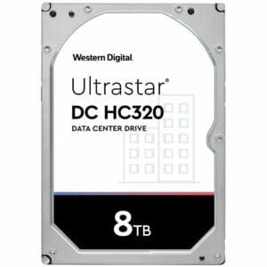 """8TB Western Digial UltraStar DC HC320 HUS728T8TALE6L4 3.5"""" Internal HDD"""