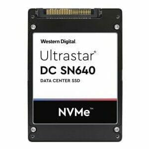 1.92TB Western Digital UltraStar DC SN640 WUS4BB019D7P3E1 U.2 NVME Solid State Drive (SSD)