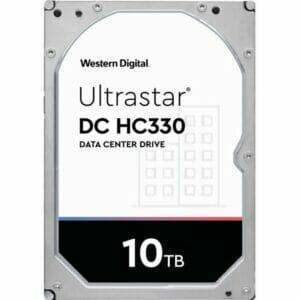 """10TB Western Digital UltraStar DC HC330 WUS721010ALE6L4 3.5"""" Internal HDD"""