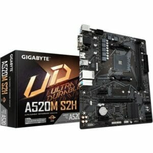 Gigabyte A520M S2H Motherboard For AMD AM4 CPU