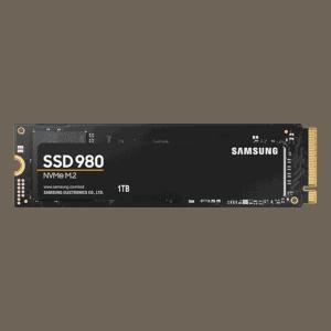 1TB Samsung 980 NVMe M.2 2280 Internal Solid State Drive (SSD)