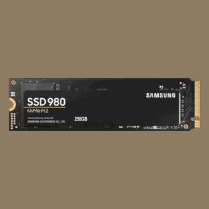 250GB Samsung 980 NVMe M.2 2280 Internal Solid State Drive (SSD)