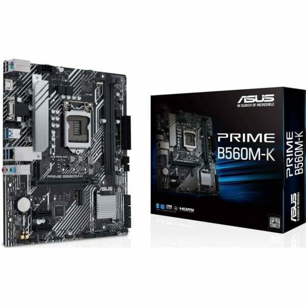 Asus Prime B560M-K Motherboard For Intel LGA 1200 CPU