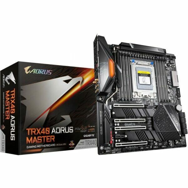Gigabyte TRX40 Aorus Master Motherboard For AMD sTRX4 CPU