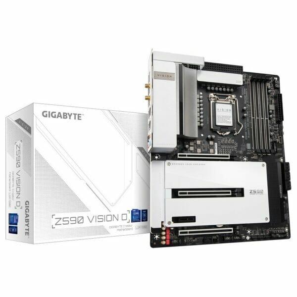 Gigabyte Z590 Vision D Motherboard For Intel LGA 1200 CPU