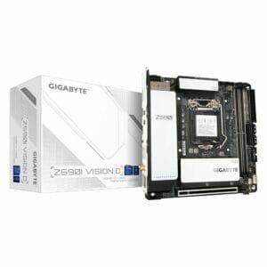 Gigabyte Z590I Vision D Motherboard For Intel LGA 1200 CPU