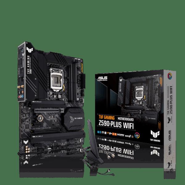 Asus TUF Gaming Z590-Plus WiFi Motherboard For Intel LGA 1200 CPU